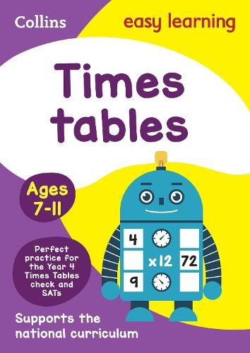 Times Tables Ages 7-11: New Edition - Collins Easy Learning KS2 (Paperback)