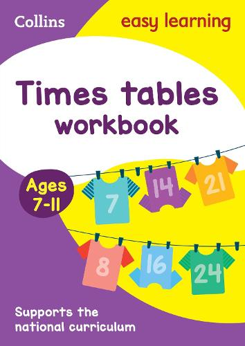 Times Tables Workbook Ages 7-11: Ideal for Home Learning - Collins Easy Learning KS2 (Paperback)