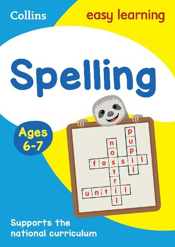 Spelling Ages 6-7: Ideal for Home Learning - Collins Easy Learning KS1 (Paperback)