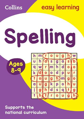 Spelling Ages 8-9: New Edition - Collins Easy Learning KS2 (Paperback)