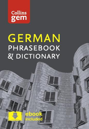 Collins German Phrasebook and Dictionary Gem Edition: Essential Phrases and Words in a Mini, Travel-Sized Format - Collins Gem (Paperback)