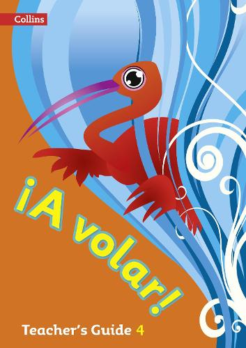 A volar Teacher's Guide Level 4: Primary Spanish for the Caribbean (Paperback)