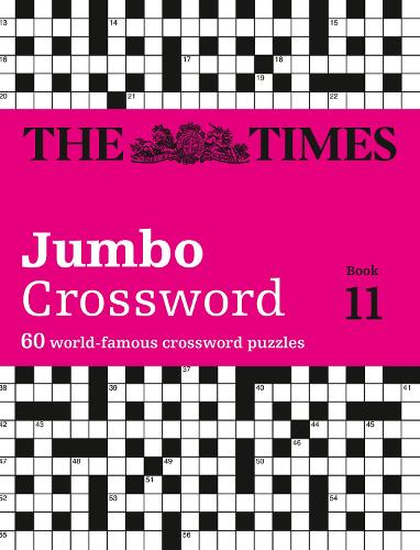 The Times 2 Jumbo Crossword Book 11: 60 World-Famous Crossword Puzzles from the Times2 (Paperback)