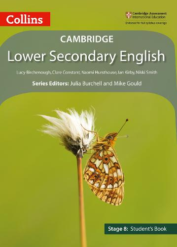Lower Secondary English Student's Book: Stage 8 - Collins Cambridge Lower Secondary English (Paperback)