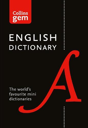 Collins English Gem Dictionary - Collins Gem (Paperback)