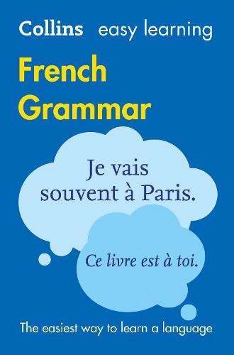 Easy Learning French Grammar: Trusted Support for Learning - Collins Easy Learning (Paperback)