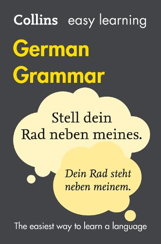 Easy Learning German Grammar (Paperback)
