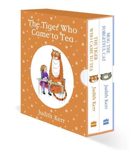 The Tiger Who Came to Tea / Mog the Forgetful Cat (Board book)