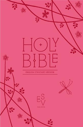 Holy Bible: English Standard Version (Esv) Anglicised Pink Compact Gift Edition with Zip - Collins Anglicised ESV Bibles (Leather / fine binding)