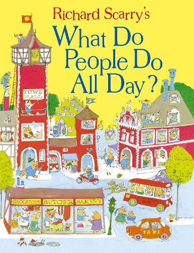 What Do People Do All Day? (Hardback)