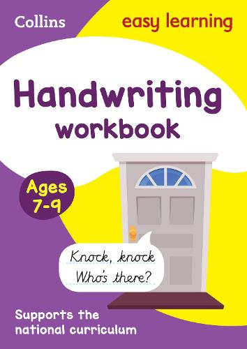 Handwriting Workbook Ages 7-9: New edition - Collins Easy Learning KS2 (Paperback)