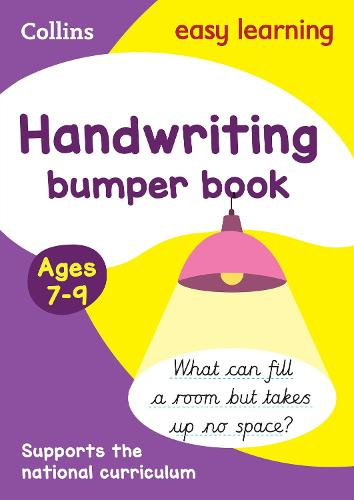 Handwriting Bumper Book Ages 7-9: Ideal for Home Learning - Collins Easy Learning KS2 (Paperback)
