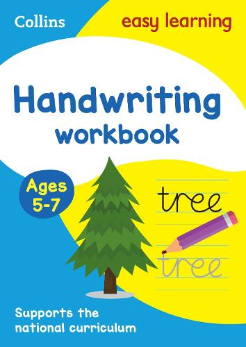 Handwriting Workbook Ages 5-7 - Collins Easy Learning KS1 (Paperback)