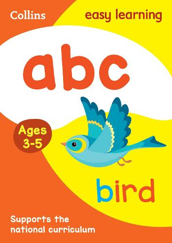 ABC Ages 3-5: Ideal for Home Learning - Collins Easy Learning Preschool (Paperback)