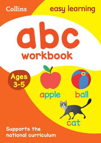 ABC Workbook Ages 3-5: New Edition - Collins Easy Learning Preschool (Paperback)