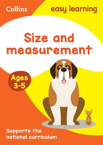 Size and Measurement Ages 3-5: Ideal for Home Learning - Collins Easy Learning Preschool (Paperback)