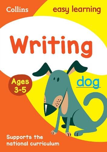 Writing Ages 3-5: New Edition - Collins Easy Learning Preschool (Paperback)