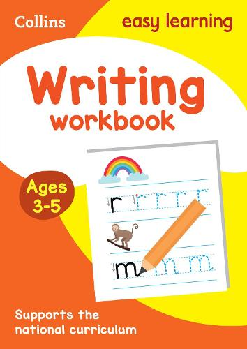 Writing Workbook Ages 3-5: Prepare for Preschool with Easy Home Learning - Collins Easy Learning Preschool (Paperback)
