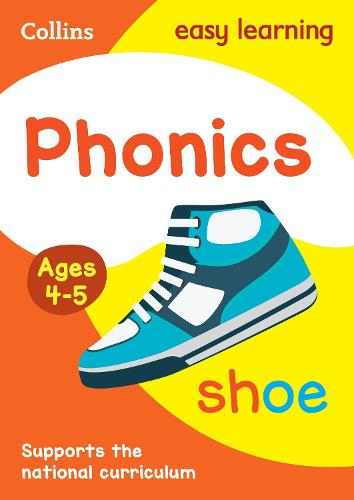 Phonics Ages 3-5 - Collins Easy Learning Preschool (Paperback)