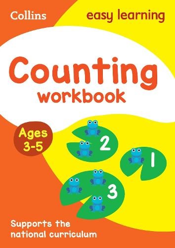 Counting Workbook Ages 3-5: New Edition - Collins Easy Learning Preschool (Paperback)