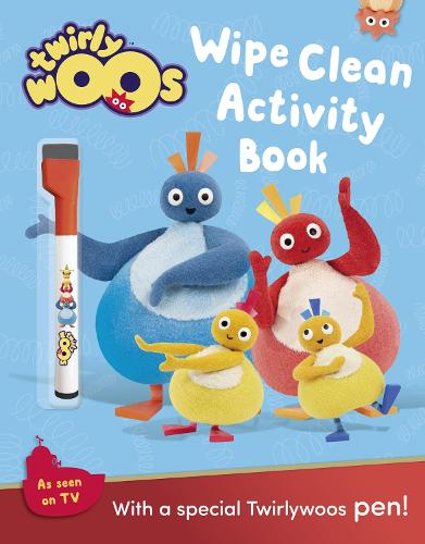 Wipe Clean Activity Book - Twirlywoos (Paperback)