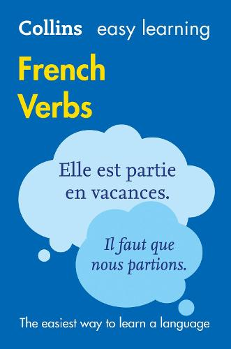 Easy Learning French Verbs: Trusted Support for Learning - Collins Easy Learning (Paperback)