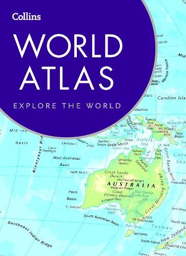 Book world atlas map