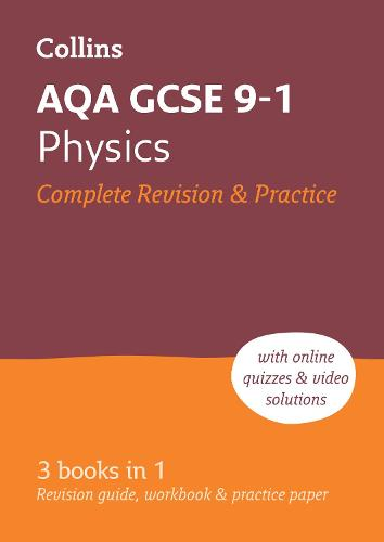 AQA GCSE 9-1 Physics All-in-One Complete Revision and Practice: Ideal for Home Learning, 2022 and 2023 Exams - Collins GCSE Grade 9-1 Revision (Paperback)