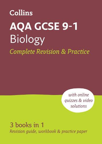 AQA GCSE 9-1 Biology All-in-One Revision and Practice - Collins GCSE 9-1 Revision (Paperback)