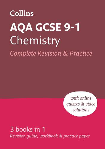 Grade 9-1 GCSE Chemistry AQA All-in-One Complete Revision and Practice (with free flashcard download) - Collins GCSE 9-1 Revision (Paperback)