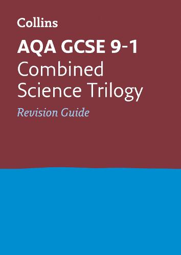 aqa gcse 9 1 combined science trilogy revision guide by collins gcse rh waterstones com collins revision guide product design collins revision guide product design