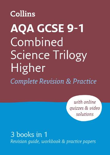 AQA GCSE 9-1 Combined Science Higher All-in-One Complete Revision and Practice: Ideal for Home Learning, 2022 and 2023 Exams - Collins GCSE Grade 9-1 Revision (Paperback)