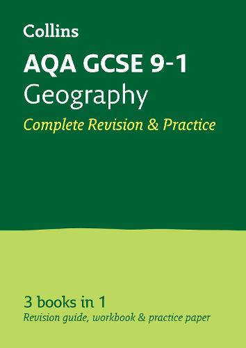 Grade 9-1 GCSE Geography AQA All-in-One Complete Revision and Practice (with free flashcard download) - Collins GCSE 9-1 Revision (Paperback)