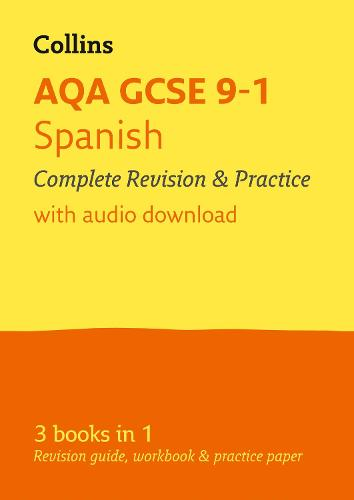 AQA GCSE 9-1 Spanish All-in-One Complete Revision and Practice: For the 2020 Autumn & 2021 Summer Exams - Collins GCSE Grade 9-1 Revision (Paperback)