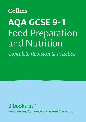 AQA GCSE 9-1 Food Preparation and Nutrition All-in-One Revision and Practice - Collins GCSE 9-1 Revision (Paperback)