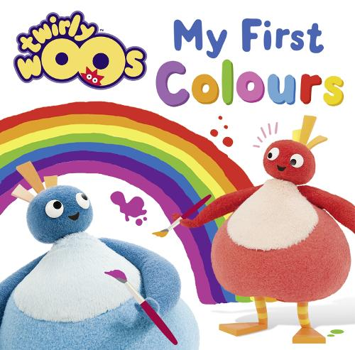 My First Colours - Twirlywoos (Board book)