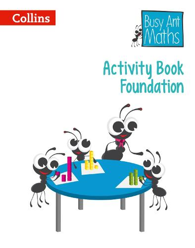 Activity Book Foundation - Busy Ant Maths European edition (Paperback)