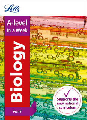 A -level Biology Year 2 In a Week - Letts A-level Revision Success (Paperback)