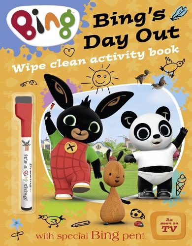 Bing's Day Out: Wipe Clean Activity Book - Bing (Paperback)