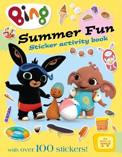 Bing's Summer Fun Activity Book - Bing (Paperback)