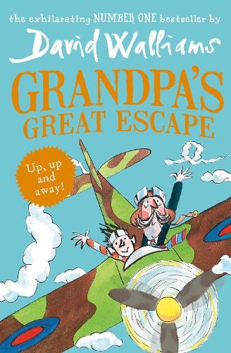 Cover of the book, Grandpa's Great Escape.