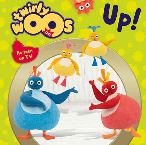 Up! - Twirlywoos (Board book)