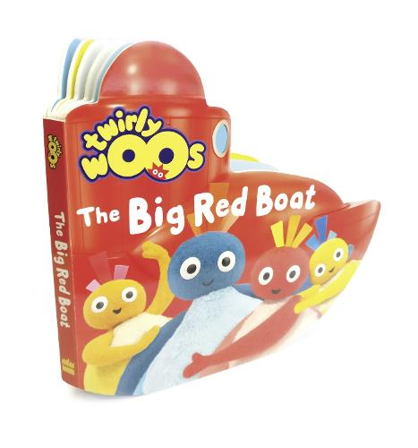 The Big Red Boat - Twirlywoos (Board book)