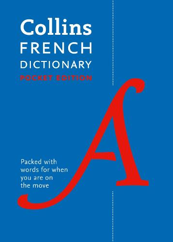 Collins French Pocket Dictionary: The Perfect Portable Dictionary (Paperback)