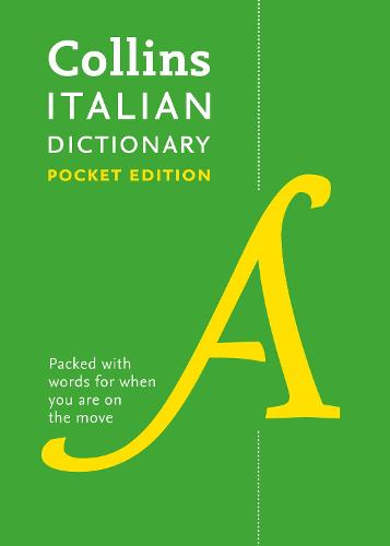 Collins Italian Pocket Dictionary: The Perfect Portable Dictionary (Paperback)