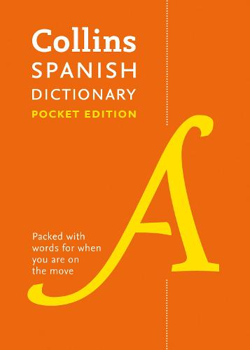 Spanish Pocket Dictionary: The Perfect Portable Dictionary - Collins Pocket (Paperback)