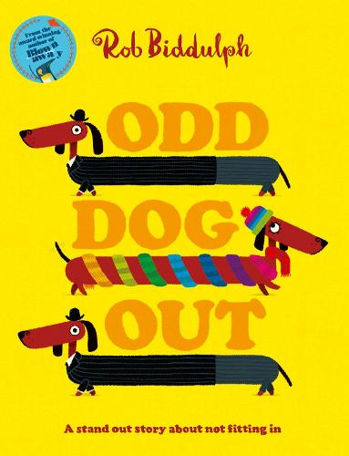 Cover of the book, Odd Dog Out.