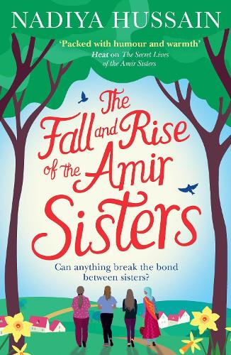 Cover of the book, The Fall and Rise of the Amir Sisters.