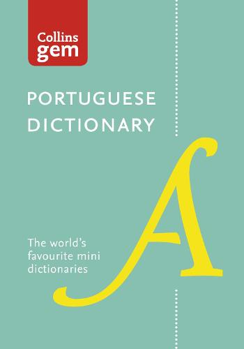 Collins Portuguese Gem Dictionary: The World's Favourite Mini Dictionaries - Collins Gem (Paperback)