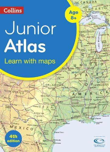 Collins Junior Atlas - Collins Primary Atlases (Paperback)